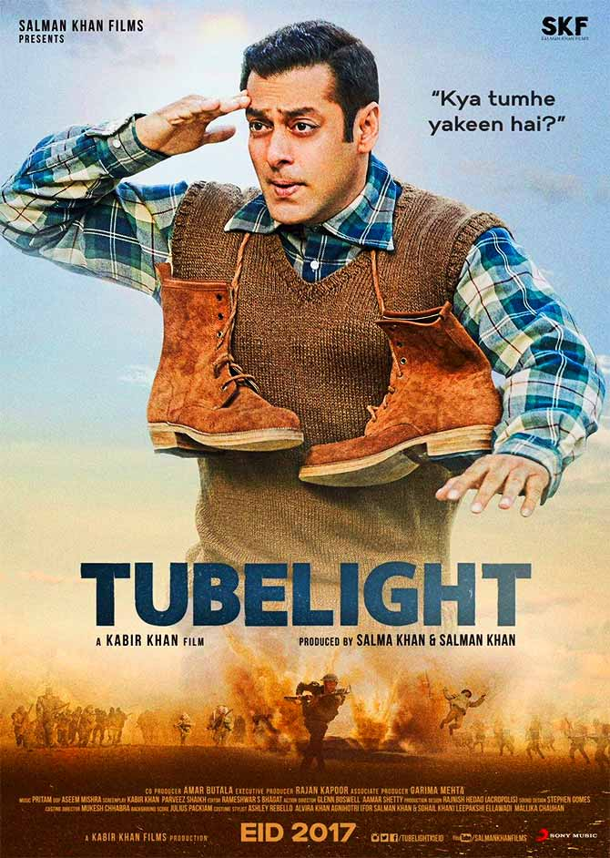 Salman Khan Tubelight Movie poster