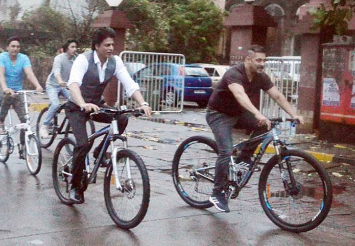 Salman Khan Bicycle Riding